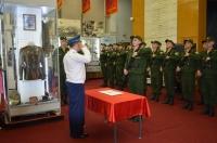 7 июля 2018 года в зале музея ПВО состоялась военная присяга молодого пополнения призыва 2018-2019 гг