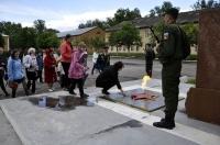 22 июня 2017 года в 11.30 в мкр. Северный, на территории военной комендатуры, у Обелиска Воинской Славы, прошел митинг, посвященный Дню памяти и скорби.