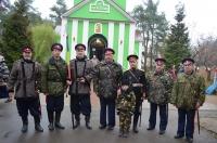 Воинский Крестный ход в мкр. Заря г. Балашиха 4 ноября 2013 года