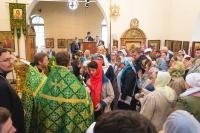 9 июля 2017 года совершилось долгожданное событие: в наш храм была привезена частичка мощей нашего небесного покровителя - преподобного Саввы Сторожевского!