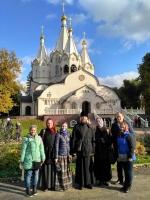 8 октября 2017 года воскресная школа прихода храма прп. Саввы Сторожевого съездила в паломничество на Бутовский полигон.