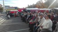 В мкр. Заря г. Балашиха прошел День пожилого человека.