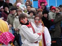 Масленица в Заре. 9 марта 2008 года.