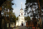 Храм Саввы Стороженского в поселке Заря